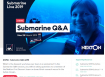 Submarine Live, March 25-29, 2019