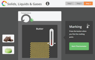 Solids liquids and gases preview