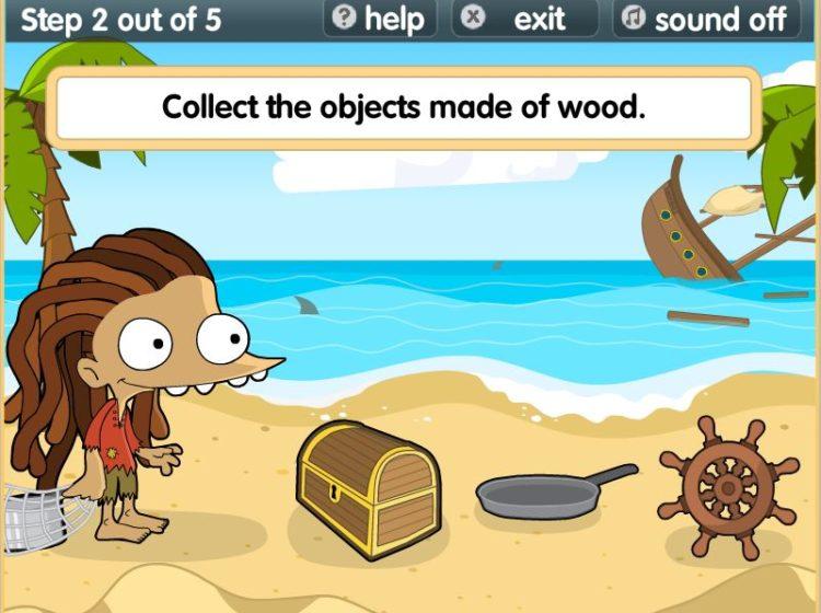 desert island materials screenshot