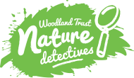 woowdland trust nature detectives logo