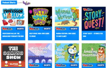 Fun Kids Podcast Shorts Screenshot