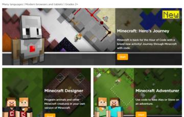 Minecraft Hour of Code Tutorials Screenshot