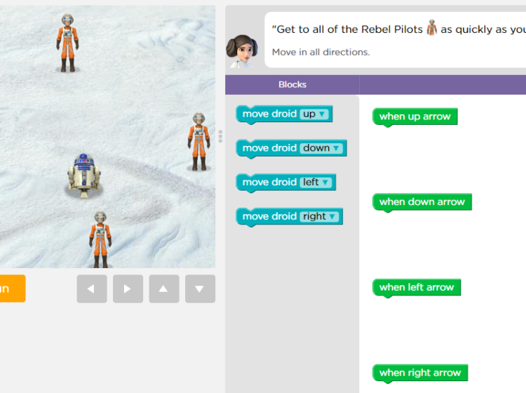 Star Wars: Building a Galaxy with Code Screenshot