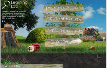 The OPAL Learning Lab Screenshot