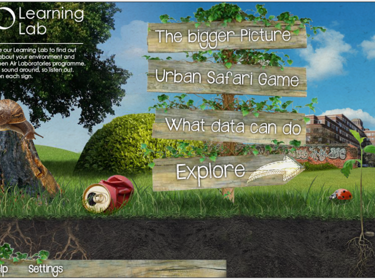 The OPAL Learning Lab Screenshot
