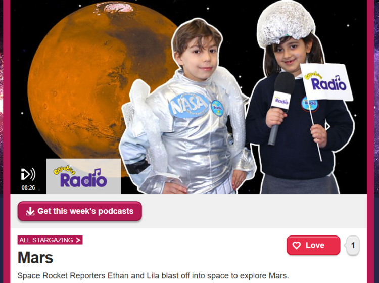 Space with CBeebies Screenshot