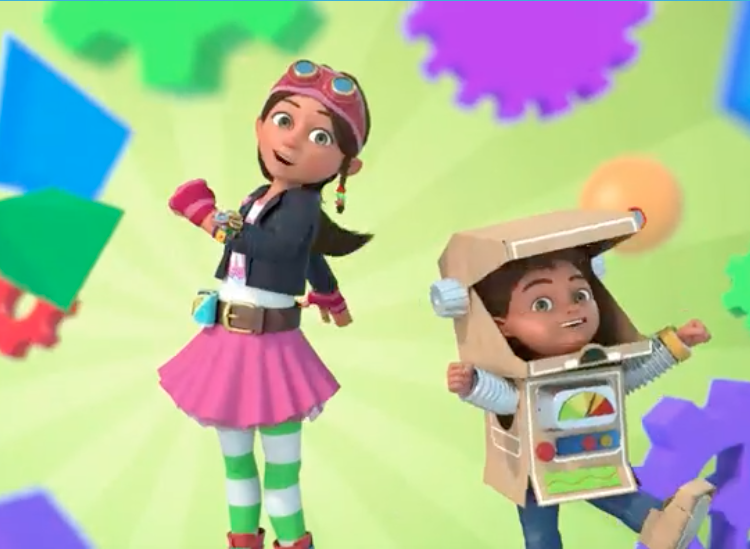 Bitz and Bob Pin Wheel Screenshot