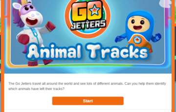Animal tracks Screenshot