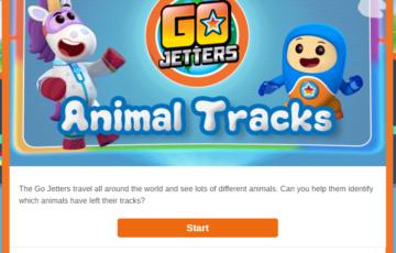 Animal tracks Screenshot