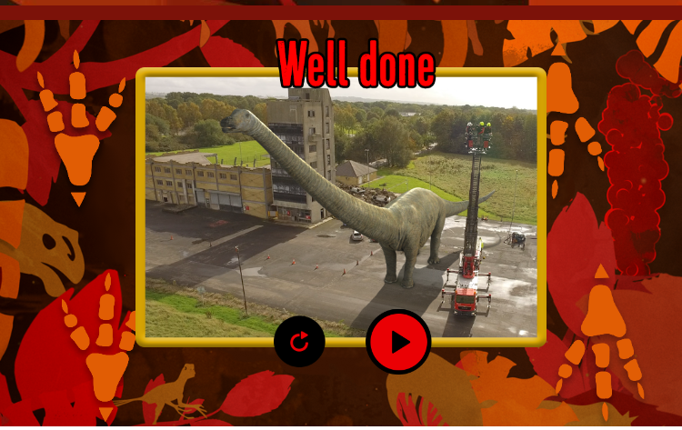 Deadly dinosaurs screenshot