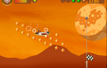 Space racers screenshot spacescape
