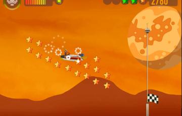Space racers screenshot spacescape