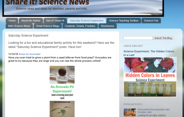 Share it! Science News screen shot