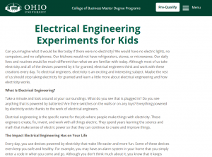 electrical engineering for kids home page