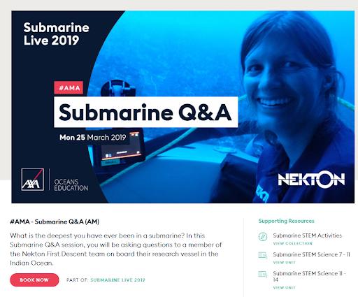 Submarine QA Screenshot