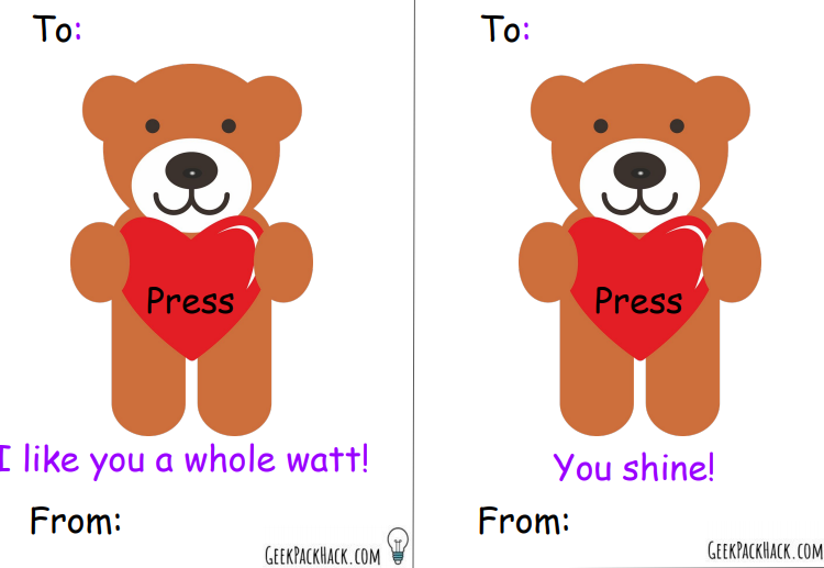 Greeting card templates